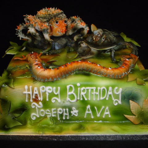 Bugs Childrens Birthday Cake
