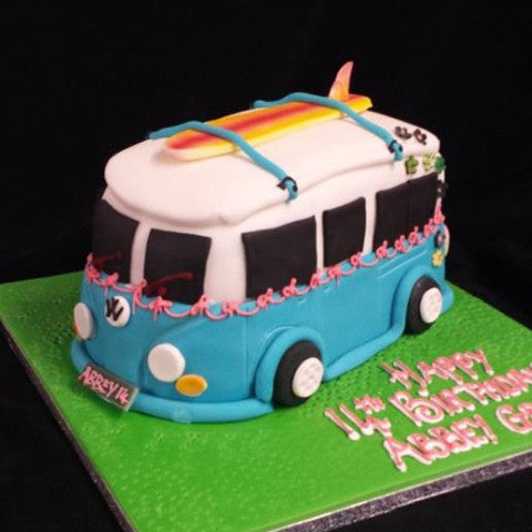 Campervan Birthday Cake