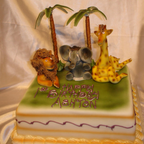 Childrens Animal Cake