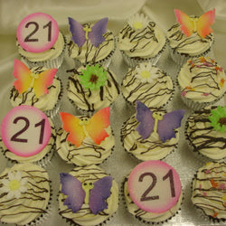 Colourfull Cup Cakes
