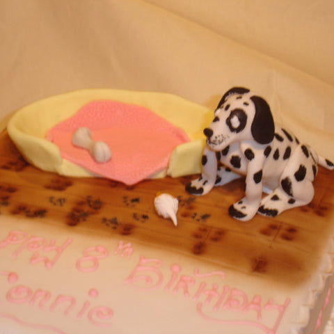 Dalmation Children's Birthday Cake