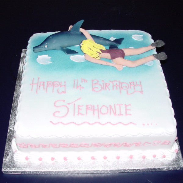 Dolphin Birthday Cake Uk Delivery Celticcakes