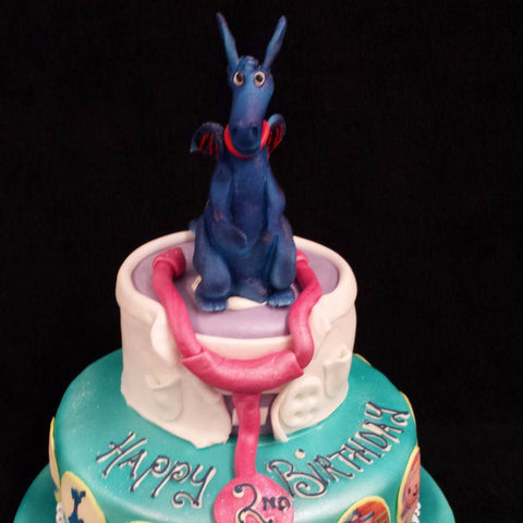 Miraculous Dr Mcstuffin Childrens Birthday Cake Celticcakes Com Funny Birthday Cards Online Eattedamsfinfo
