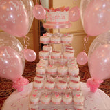 Tower Of Individual Wedding Cakes 5