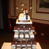 Tower Of Individual Wedding Cakes 7