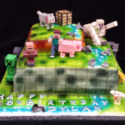 Lego  Childrens Birthday Cake