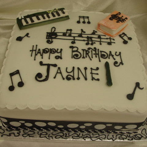 Musical Birthday Cake - UK DELIVERY