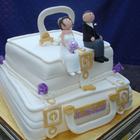 2 Tier Wedding Suitcase