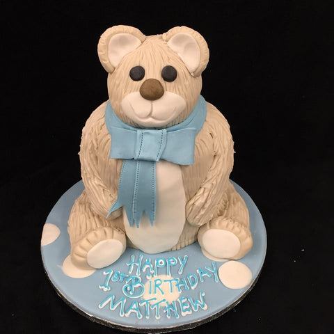 Teddy Bear Childrens Birthday Cake