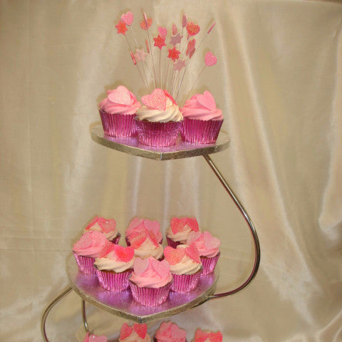 Tower Of Wedding Cupcakes 3