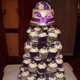 Tower Of Wedding Cupcakes 4