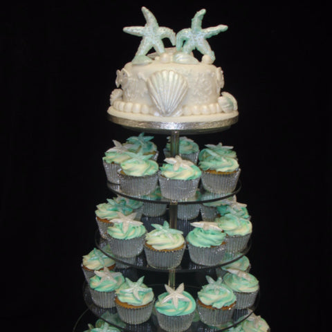 Tower Of Wedding Cupcakes 2