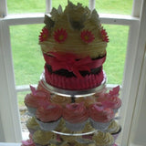 Tower Of Wedding Cupcakes 8