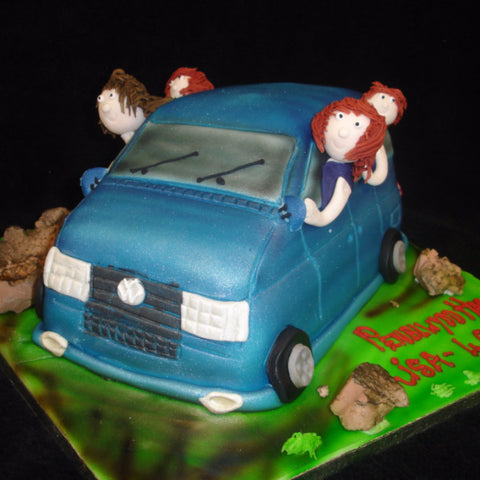 Van Birthday Cake