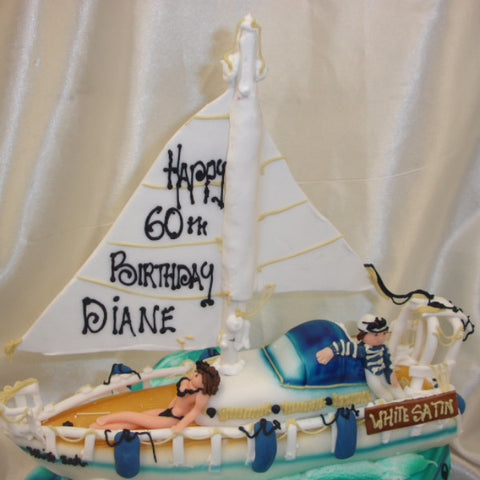 Yacht Birthday Cake