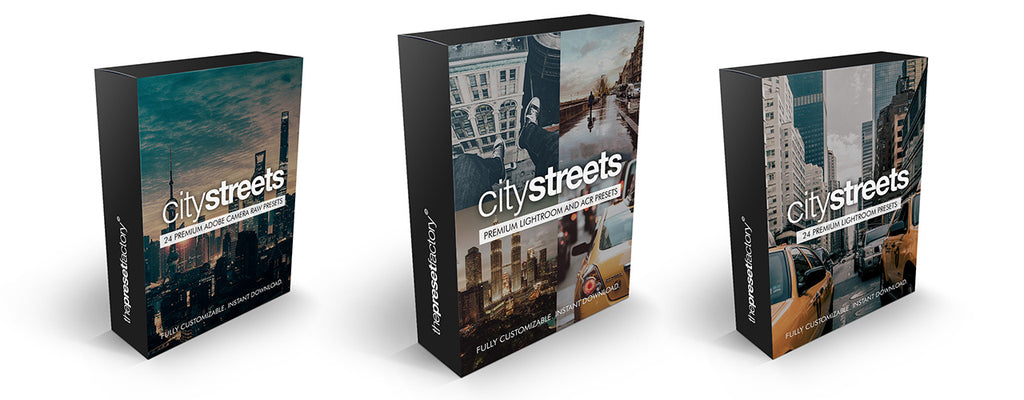 City Streets Lightroom and ACR Preset packs
