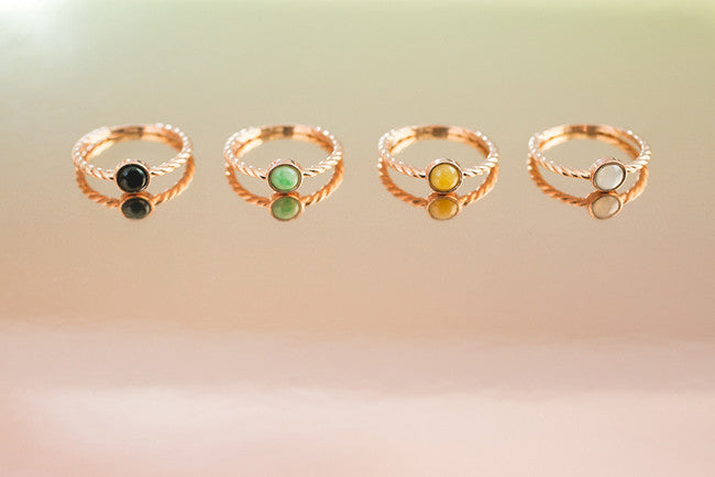 New in store: Fashionable jade rings