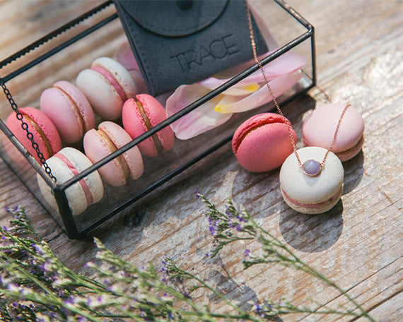 Jewelry and macaron gift set | TRACE and Jouer Hong Kong