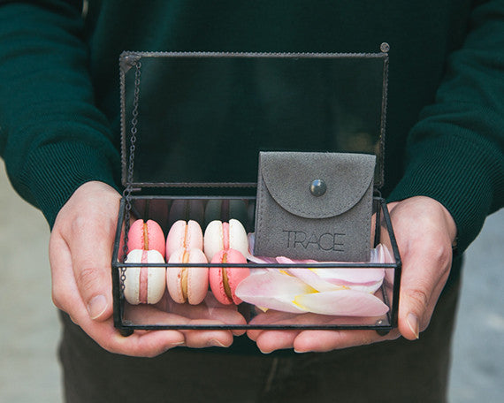 Valentine's Day Gift For Her | pink macarons + jade jewelry | Jouer and TRACE