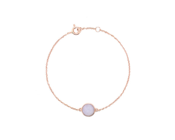 Vivi by TRACE jade jewelry | Jade cabochon bracelet for women
