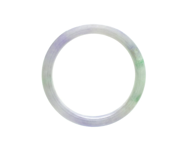 Baby Bangles | Purple and Green Jade by tracejade.com