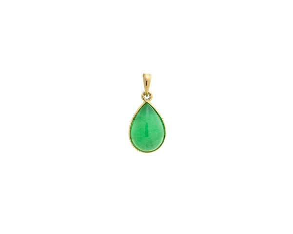 Pear Shaped Jade Pendant | Natural jade stones
