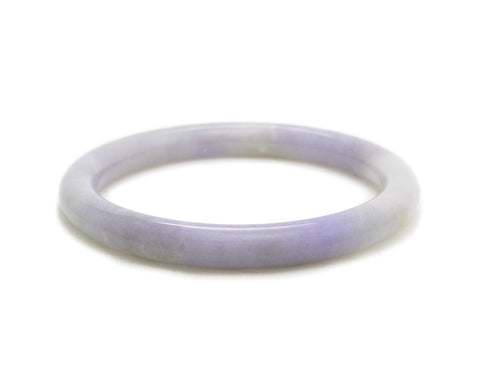 Lavender Jade Bangle | Grade A jadeite | Modern jade jewelry by TRACE