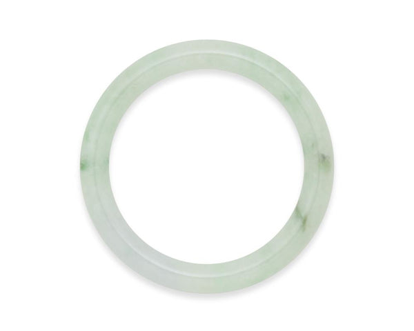 Watercolor Green Jade Bangle | Shop jade online at tracejade.com