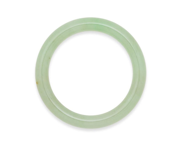 Grade A Green Jade Bangle | tracejade.com