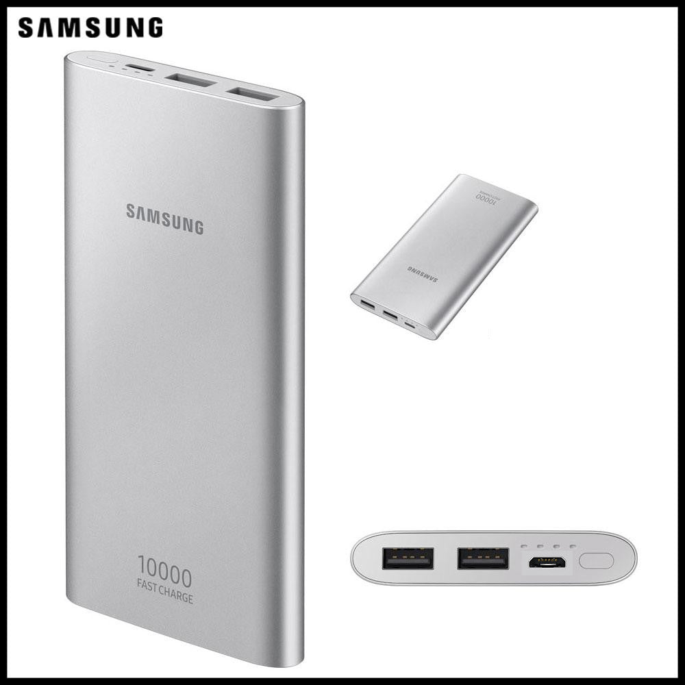 PROMOTION -50% PowerBank Samsung 10000 mAh avec Fast charge 2 port USB - Gris
