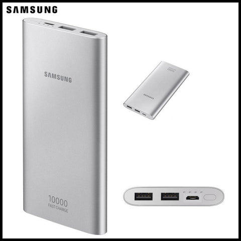 PowerBank Samsung 10000 mAh avec Fast charge 2 port USB - Gris