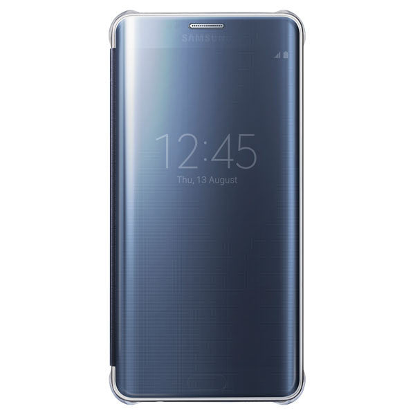 Samsung Clear View Cover pour Samsung Galaxy S6 Edge plus - Blue Black - Le13Bis.com