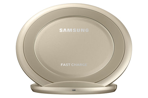 Chargeur Samsung  à induction STAND   (Fast charging)  -  GOLD