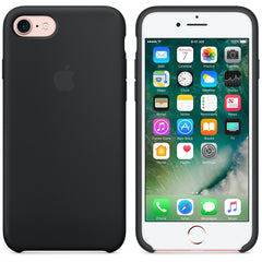 Coque en silicone iPhone 7 - Noir