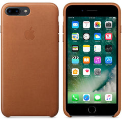 Coque d'origine Apple en cuir pour  iPhone 7 Plus - Havane - Le13Bis.com - 2