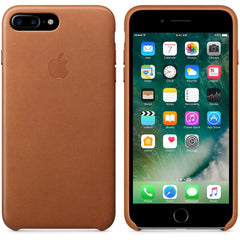Coque d'origine Apple en cuir pour  iPhone 7 Plus - Havane - Le13Bis.com - 4