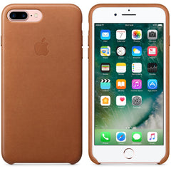 Coque d'origine Apple en cuir pour  iPhone 7 Plus - Havane - Le13Bis.com - 5