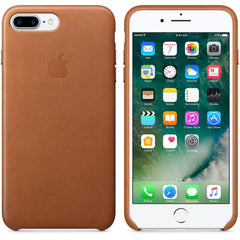 Coque d'origine Apple en cuir pour  iPhone 7 Plus - Havane - Le13Bis.com - 7