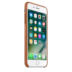 Coque d'origine Apple en cuir pour  iPhone 7 Plus - Havane - Le13Bis.com - 8