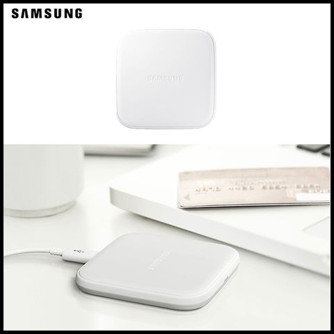 Mini Chargeur Samsung  à induction  -  Blanc
