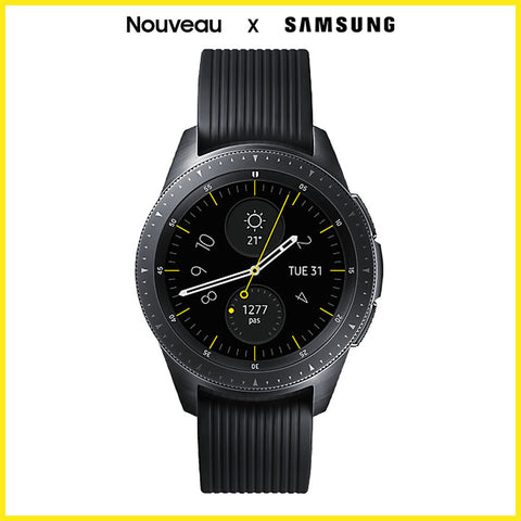Galaxy Watch (S4) Medium Noir Impérial 42mm