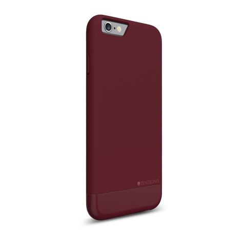 Coque Slide en polycarbonate Bordeau pour iPhone 6 & 6s