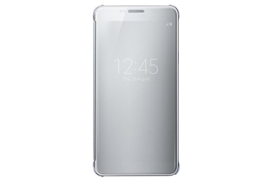 Samsung Clear View Cover pour Samsung Note 5 - Silver - Le13Bis.com