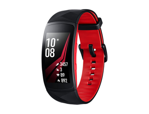 Gear Fit2 Pro - Rouge/Noir