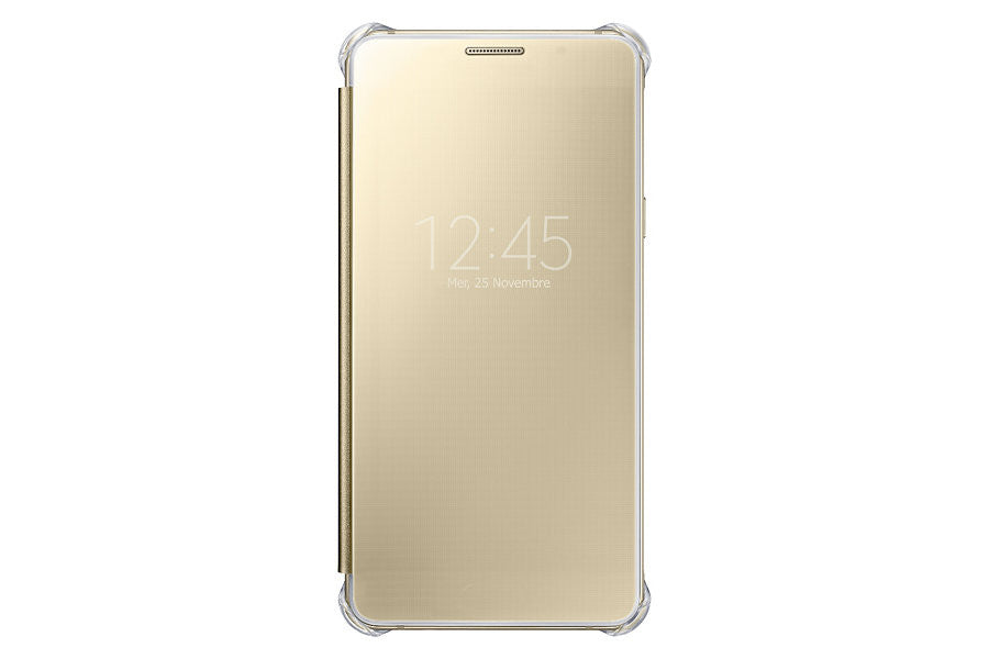 Samsung Clear View Cover pour Samsung A5 2016 - Gold - Le13Bis.com