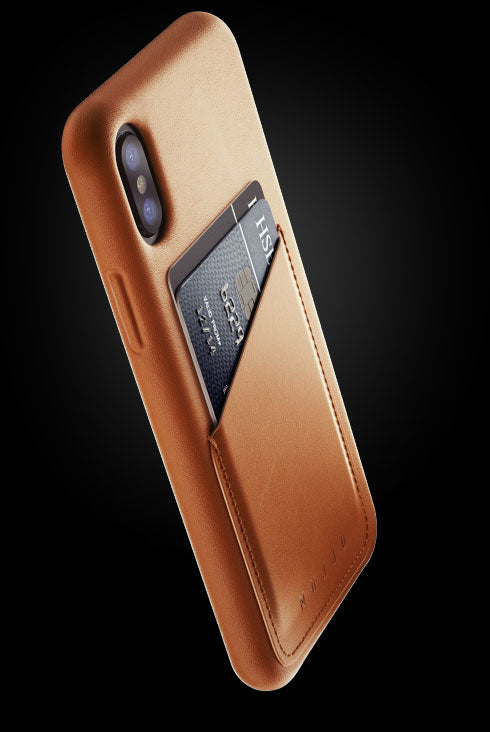 coque etui cuir vertable iphone x