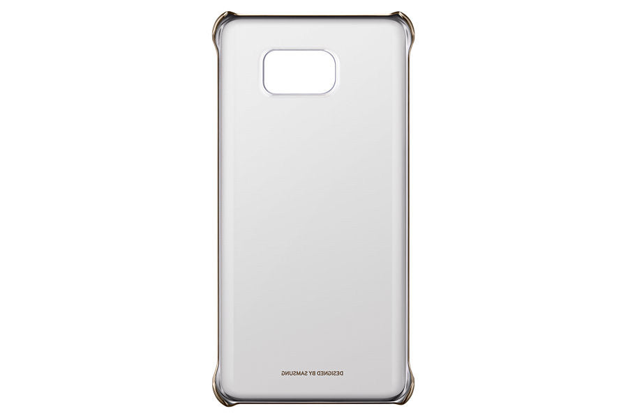 Samsung Clear Cover pour Samsung Note 5 - Gold - Le13Bis.com