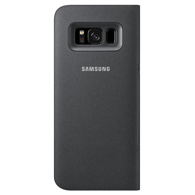 many fashionable well known thoughts on Étui LED View noir pour Galaxy S8 - Noir