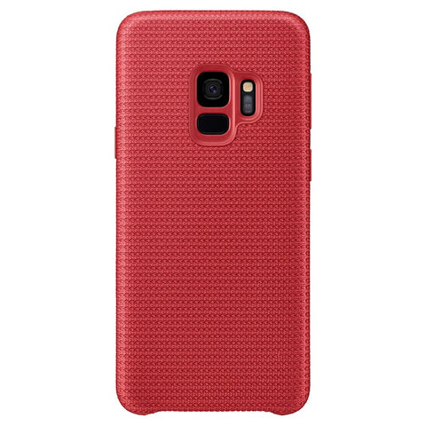Coque Samsung Hyperknit pour S9 - Rouge