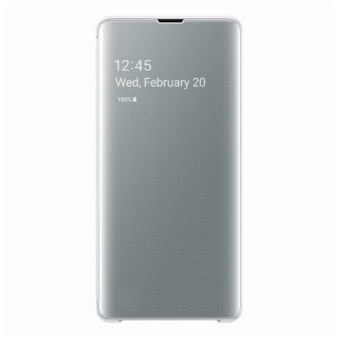 Étui Clear View Cover pour Galaxy S10 - Blanc